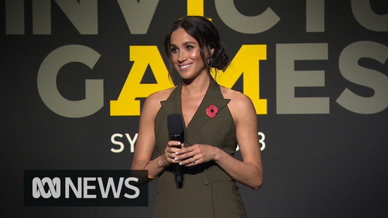 Meghan Markle 'so grateful to be a part of' the Invictus Games