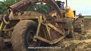 Bulldozers, Excavators, Scraper Buckets, Rippers and Ploughs hard at work