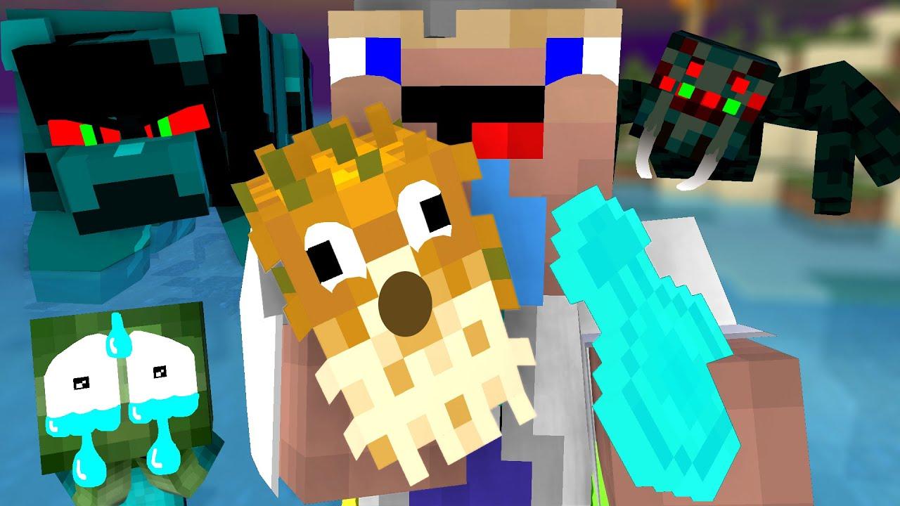 Monster School : Scary Beach - Minecraft Animation