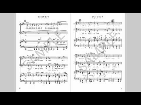Peace On Earth - MusicK8.com Choral Octavo