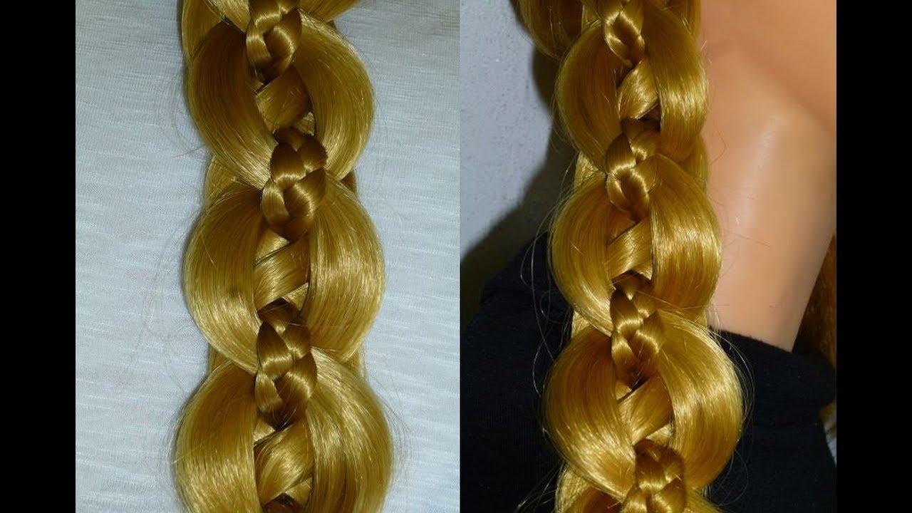 Zopf Aus 5 Strähnen Flechten Frisuren Selber Machenalltagschule Cute Braid Hairstyle