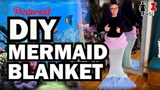 vermillionvocalists.com - DIY Mermaid Blanket, Corinne VS Pin #25