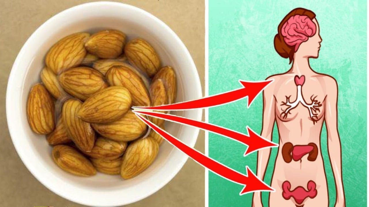 Have 5 Soaked Almonds After Waking Up And this Will Happen To You