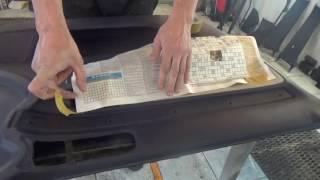 Подготовка и покраска салона автомобиля.Часть 1.