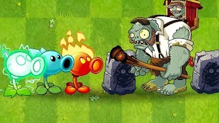 TOP 30 Plants Power UP vs Gargantuar Porter Zombie Plants vs Zombies 2 Gameplay