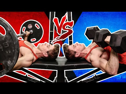Barbell Bench Press VSll Bench Press | WHICH BUILDS MORE MUSCLE?
