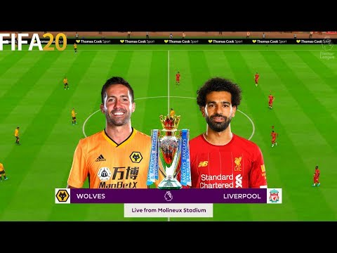 Wolves vs Livrpool - Premier League - Full Gameplay | FIFA 20