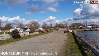 HONFLEUR [14] - Aire Camping Cars en Normandie