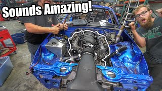 LS Miata Build FIRST STARTUP! And Big Progess! *Sounds Like A MONSTER!!*