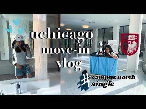 UCHICAGO DORM MOVE-IN | Singles, Doubles, & Bathroom!
