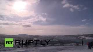 Russia: See the eclipse from the Arctic city of Murmansk