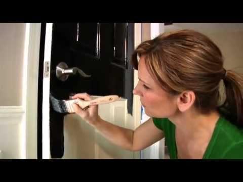 Glidden® Trim U0026 Door Paint: Paint Doors Easily