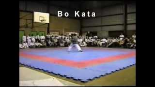 Bo Staff Kata Demonstration - Sakagawa No Kun