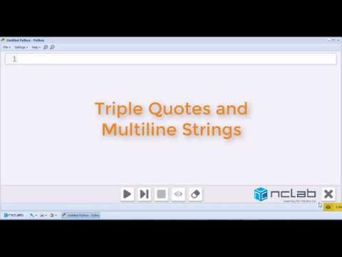 Triple Quotes and Multiline Strings in Python
