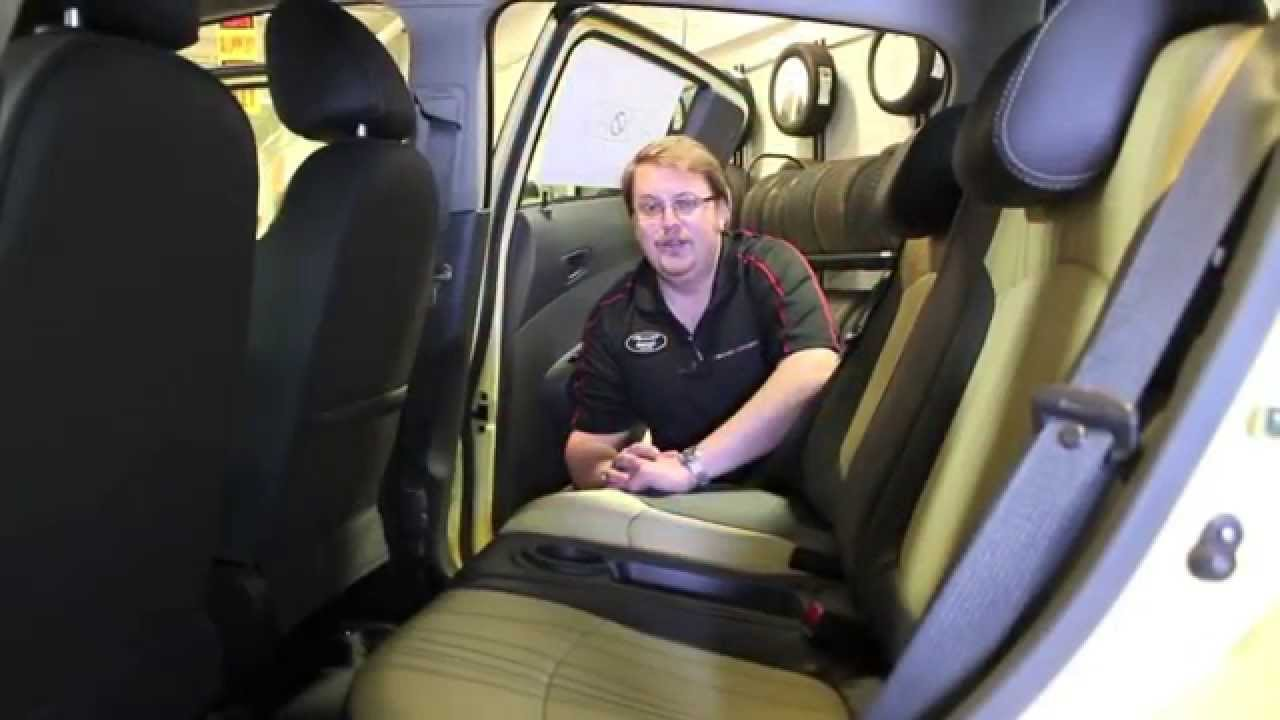 How To Put The Back Seat Down In The Chevrolet Spark