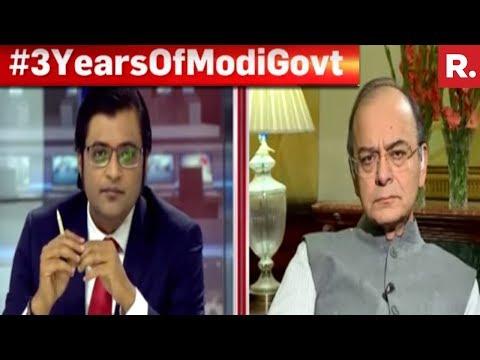 Arun Jaitley Speaks To Arnab Goswami | Exclusive Interview