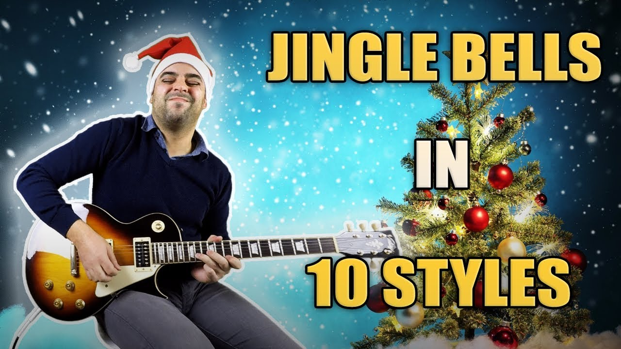 Jingle Belle Ghostlygabbie: Jingle Bells Played In 10 Styles