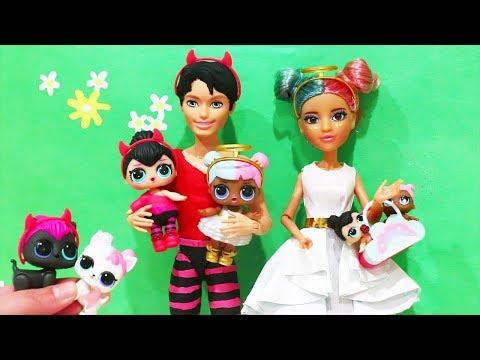 Bonecas LOL Surpresa Família Da Sugar e da Spice e LOL Confetti POP -Brinquedonovelinhas