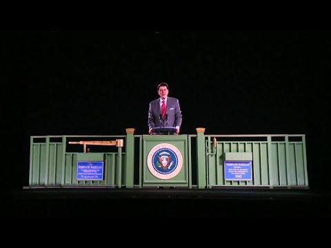 Bill Handel - A Ronald Reagan Hologram Debuts at Namesake Library