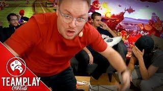 Zouloux l'imitateur... Défis pour les perdants sur Mario Tennis & Smash Bros- Team Play Coca-Cola #3
