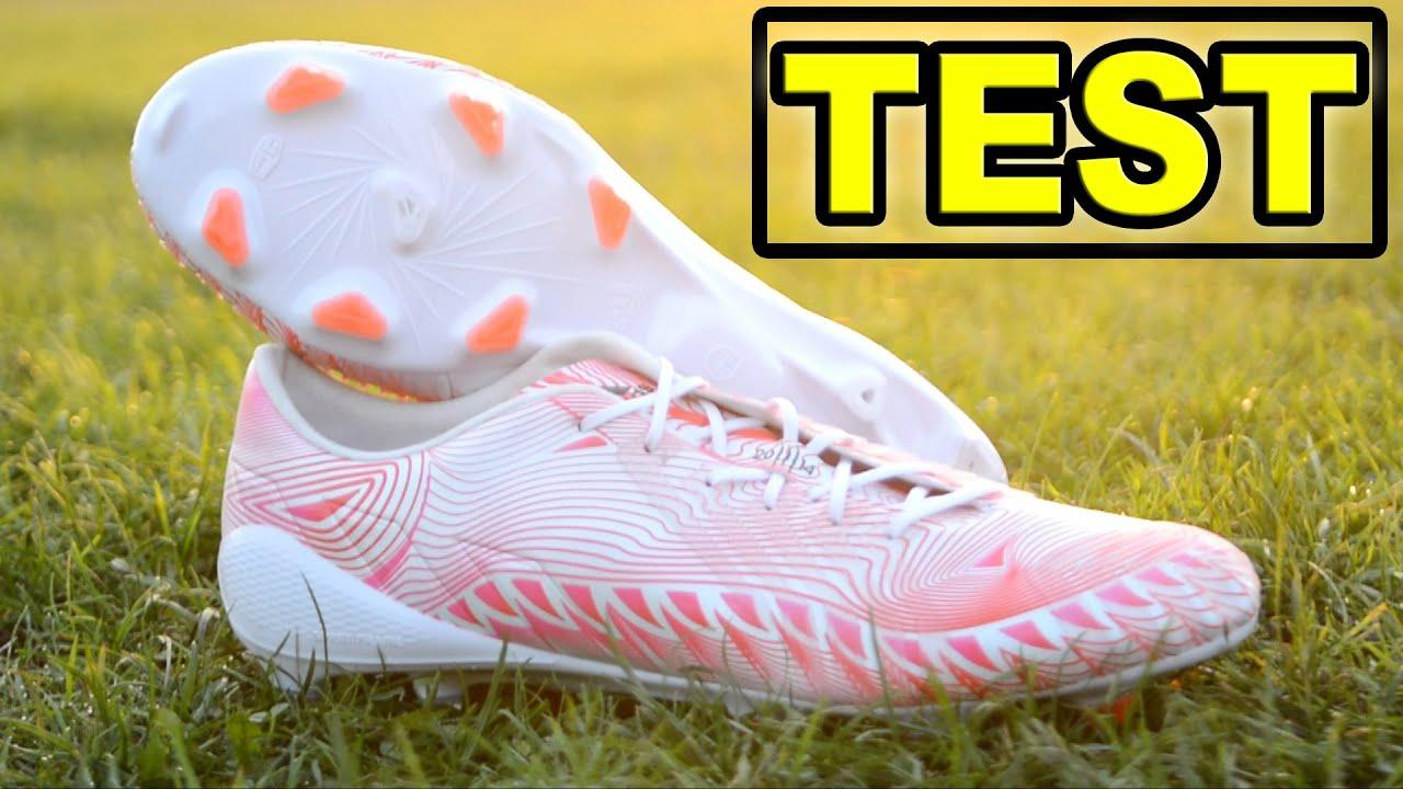 online retailer 0bcd0 91c32 TEST Special Edition Adidas Predator Crazylight FG - Running WhiteNeon  PinkInfrared  KimFootball - YouTube