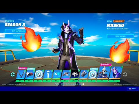 Fortnite Season 3 Trailer, Map, Skins And Battlepass! (Fortnite Battle Royale)