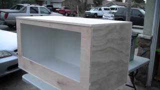 Tegu Enclosure Build