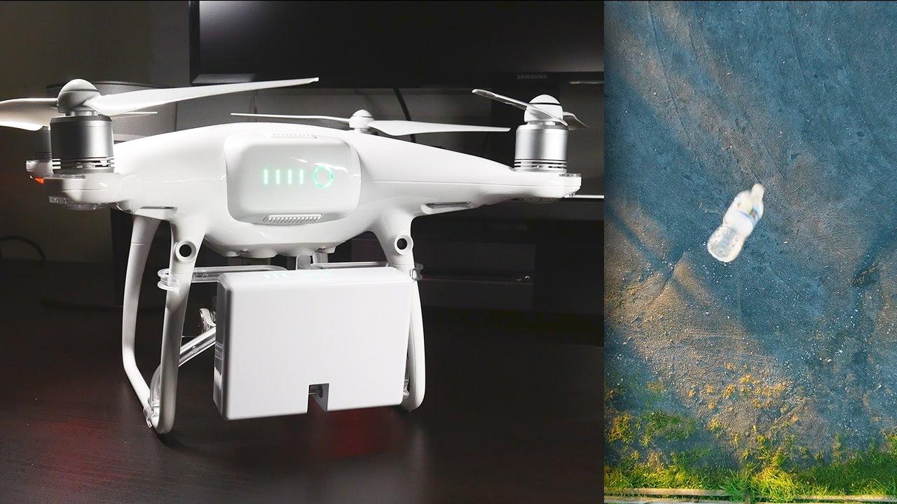 DJI Phantom 4 Pro airdrop systeem
