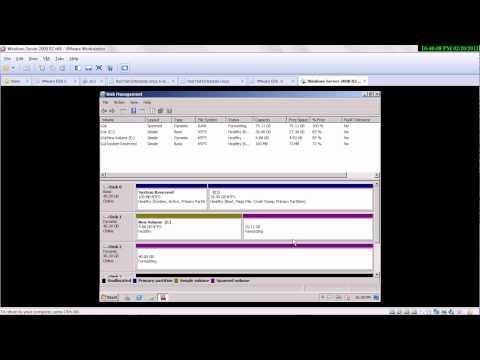 Windows Server 2008: The Disk Management GUI