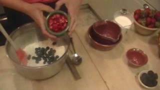 Meyer Lemon Berry Muffins