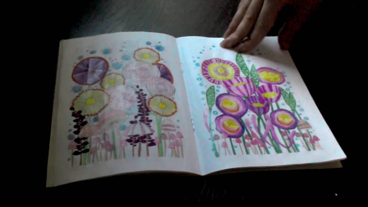 Обзор/раскраска антистесс / Орнаменты , цветы , узоры / от ...