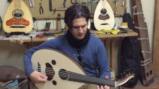 Cocobolo arabic tuning oud played by ILIAS made by Dimitris
