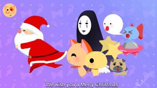 We Wish You A Merry Christmas - Christmas Songs Xmas Songs English Subtitle - Lala Cat Official