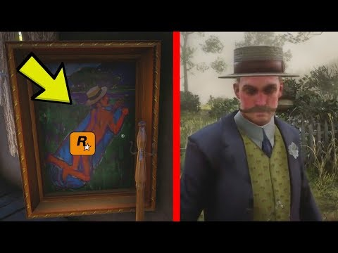 Gavins Friend SECRET Painting Found in Red Dead Redemption 2! (Secret Room) thumbnail
