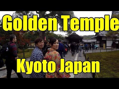 Kyoto Travel: Kinkakuji (Golden Pavilion) - Japan V207