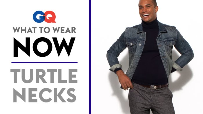 How To Wear A Turtleneck What To Wear Now Style Guide Gq Youtube