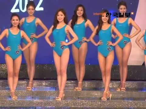 คลิปประกวดนางงามเกาหลี 2012 เดินอวดโฉมชุดว่ายน้ำ