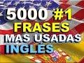 FRASES#1 -.INGLÉS ESPAÑOL  - CON PRONUNCIACIÓN - Most Common English Phrases