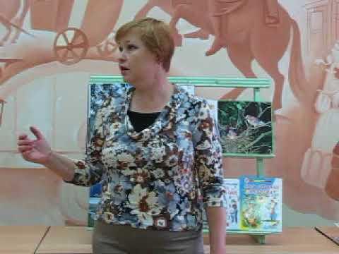 Изображение предпросмотра прочтения – ГалинаКапустина читает произведение «Детство» И.А.Бунина