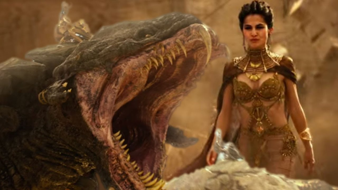 New Gods Of Egypt Trailer Review Collider Youtube