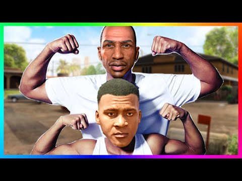 IS FRANKLIN CJ'S SON!? - The Secret Mystery Of Franklin's Mom & Dad + Aunt Denise! (GTA 5)