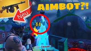 *TO STARK* I used AUTOSCHIESSEN in FORTNITE MOBILE and it was HOW AIMBOT...!