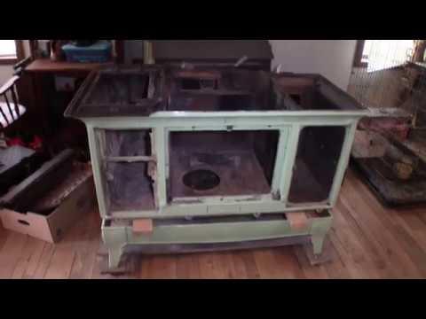 Kalamazoo Wood cook stove progress update #1.