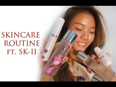 SKINCARE ROUTINE ft. SK-II • (with Bahasa Indonesia subs)
