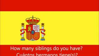 Learn Spanish: 600 Spanish Phrases for Beginners