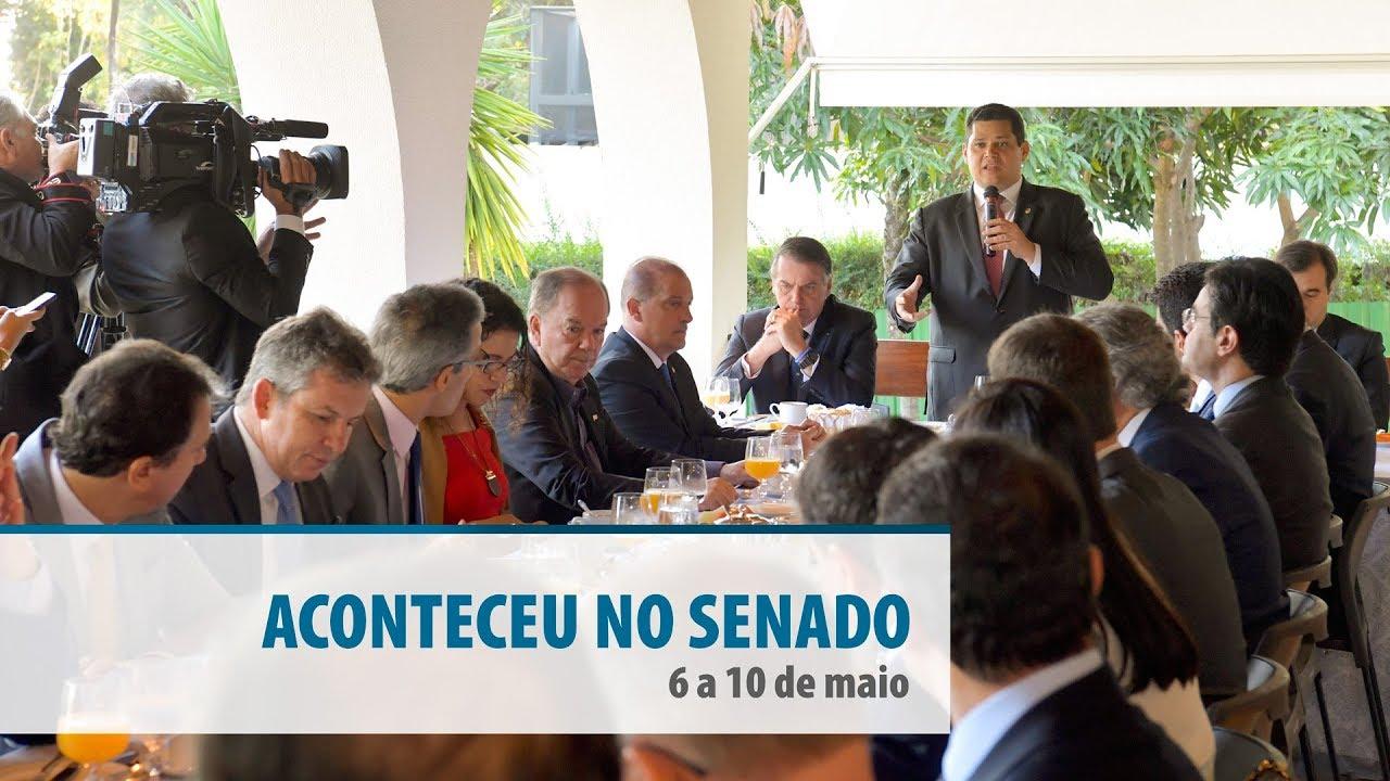 Aconteceu no Senado (6 a 10 de maio): as notícias e fotos da semana
