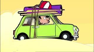 Driving on The Beach | Mr. Bean Cartoon