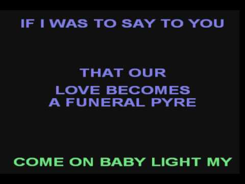 Light my fire  Will Young KARAOKE BASE DEMO SOUNDFONT