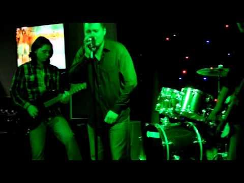 """Rock stars of Balkhash """"AIM"""" in a karaoke club Merey"""