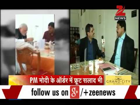 BBV: PM Modi eats vegetarian thali for lunch in Parliament canteen